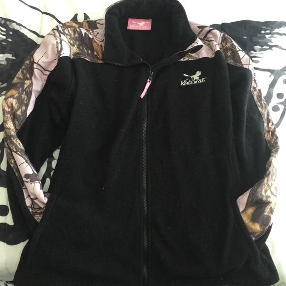 Kings River Mossy Oak Womens Fleece Jacket
